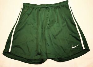 Nike Dri Fit Workout Shorts Girls Size Large Athletic Soccer Running Green New