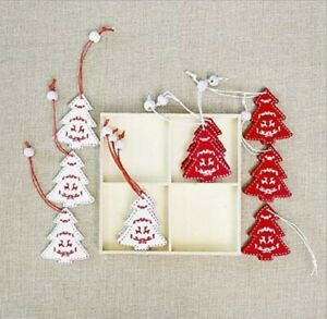 12PCS Xmas Decoration Wooden Ornaments Christmas Tree Hanging Pendants Tree