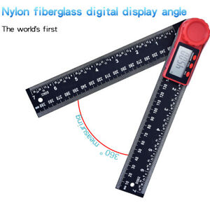 LCD Digital Angle Finder Ruler 8 Inch Protractor Measure Tools 200mm Angle Gauge $14.41