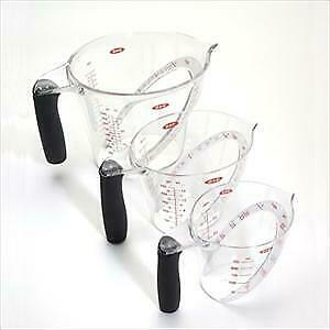 Good Grips 3-Pc Angled Measuring Cup Set