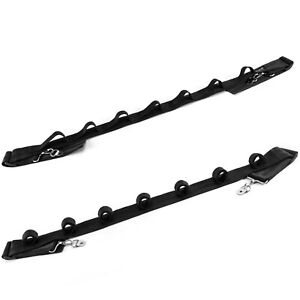 Dr.Fish 7 Slot Fishing Rod Holder Car Rod Saver Fishing Pole Rack Belt SUV Car