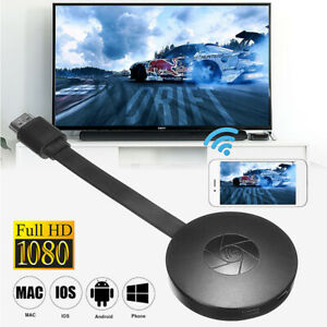 Wireless WiFi Display 1080P HDMI  TV Dongle Miracast MiraScreen Receiver Adapter