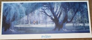 Disney Lithograph Artwork PROMO Frozen Limited Edition numbered poster print