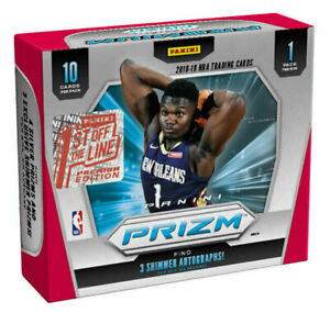 2019-20 FOTL Prizm Basketball Sealed Hobby Box In Hand 3 available