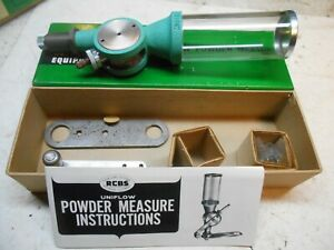 new RCBS uniflow powder measure with large cylinder reloading