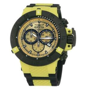 Invicta 0934 Men's Subaqua NOMA Black Ion Plated Chronograph Dive Watch