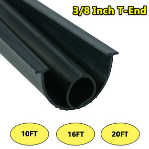 3 8 Inch T End Garage Door Bottom Weather Seal Buffering Replacement 10#x27; 16#x27; 20#x27;
