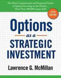 Options as a Strategic Investment: 5th Edition  HARDCOVER