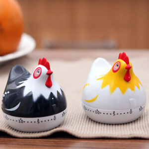 Kitchen Cooking Timer Cute Hen Shape Tools Count-Down Up Clock Loud Alarm TIMER