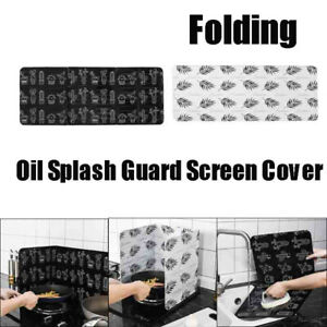 1x Kitchen Cover Anti Splatter Shield Guard Cooking Frying Pan Oil Splash Screen
