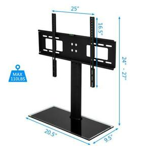 TV Stand Base Swivel Mount And Adjustable Height for 32quot; 55quot; inch TVs