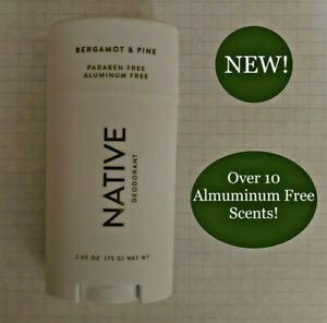 NATIVE DEODORANT MENS Select 1 of 11 SCENTS ALUMINUM FREE LONG LASTING 2.65oz