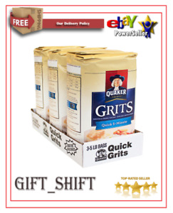 Quaker Quick 5-Minute Grits (5 lb., 3 ct.) FREE SHIPPING