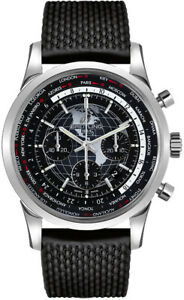 Breitling Transocean Chronograph Unitime Men's Watch AB0510U4BE84-256S
