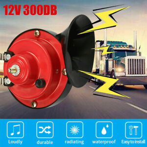 12V 300DB Super Loud Train Horn Waterproof for Motorcycle Car Truck SUV Boat $9.96