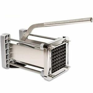 French Fry Cutter, CUGLB Professional Commercial Grade Heavy Duty Potato Chipper