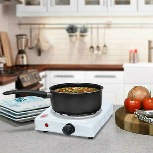 Commercial Portable Electric Single Hot Plate Burner 1100 Watt Cooking Stove