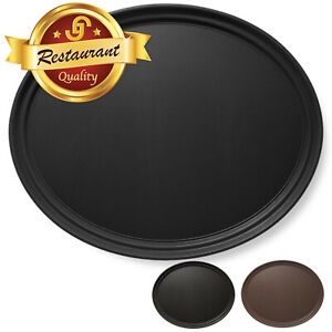 Oval Restaurant Serving Trays NSF Certified Non Skid Food Service Hotel Bar Tray