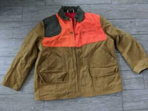 1960s vintage WINCHESTER hunting jacket LARGE duck canvas SPORTSMAN shooting