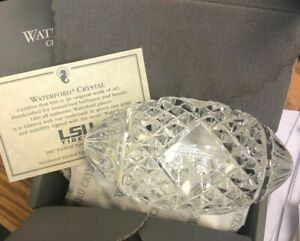 LSU 2007 National Championship Waterford Crystal Football LIMITED EDITION.   $125.00