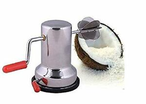Stainless Steel Coconut Scraper Graters Shredder for Kitchen Home Manual Scrap