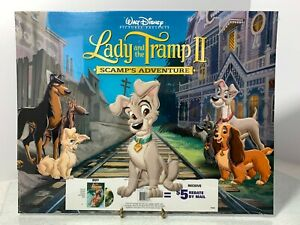 Disney#x27;s Lady and the Tramp II Set of 4 Lithographs Still Factory Sealed NEW $9.99