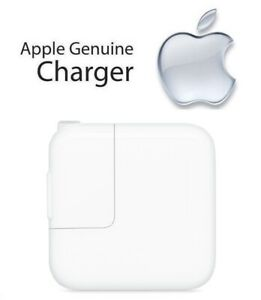 Genuine Apple iPad 2nd Gen 12W USB Power Adapter Charger MD836LL A A1401