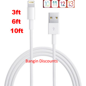 OEM for Apple Lightning USB Charger Cable For iPhone 6 7 8 X XR 11 3ft 6ft 10ft $6.27