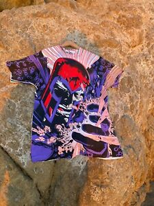VTG Vintage Marvel Shirt Magneto 1993 X-Men Mega Print Single Stitch