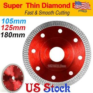 Angle Grinder Porcelain Tile Turbo Thin Diamond Dry Cutting Disc Wheel Ceramic