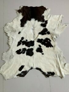 Calf Skin Rug Cowhide Rug Small Cowhide for Less Cute Cow Rug Cow Leather Rug