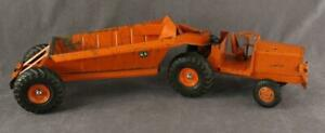 Vintage 1950's Metal MODEL Toys DOEPKE Vehicle EUCLID Pioneer Tractor