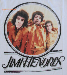 Junk Food Jimi Hendrix The Backstage Cropped Loose Fits Tank Soft Fine Jersey NW $19.00