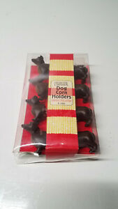 Dachshund Dog Corn On The Cob Holders Set Of 4 (8 Pieces) Stainless Steel Prongs