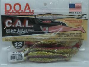 DOA 80-408 CALS-408 Cal Shad Lures 3