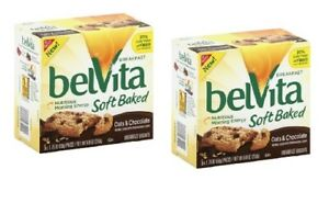 Belvita Breakfast Soft Baked Oats & Chocolate 2 Box Pack
