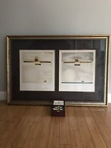 SALVADOR DALI quot;CHRIST OF GALAquot; 2 SIGNED LITHOGRAPHS W RARE 3D VIEWER 185 325 $1999.99