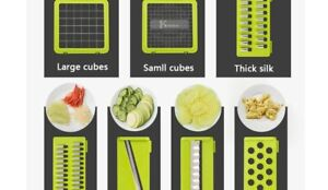 Vegetable Cutter Food Slicer Dicer Nicer Fruit Peeler Chopper Cutter Grater