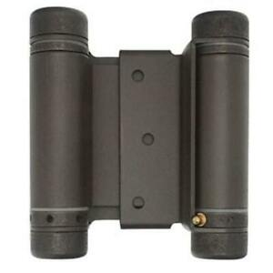 Everbuilt double-action spring hinge bronze finish 3 in 10 on hand 272 233