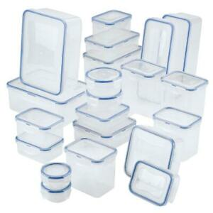 42-Piece Easy Essentials Food Storage Container Set for all your kitchen needs.