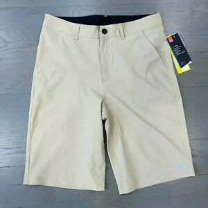 Under Armour HeatGear Youth Boy Golf Amphibious Shorts UPF 50 Quick Dry Size 20 $29.88