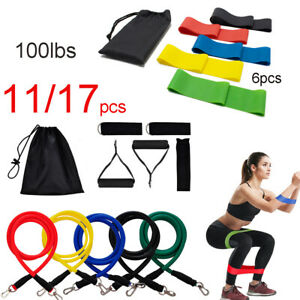 Resistance Bands Expander Workout Elastic Pull Rope Yoga Exercise Fitness Rubber