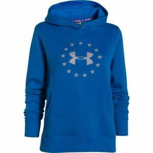 Under Armour Women's Freedom Tactical Hoodie Blue 1260321 457 Small $24.99