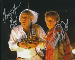 Michael J Fox Lloyd Autographed Signed 8x10 Photo Back to the Future REPRINT $9.99