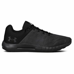 Under Armour Micro G Pursuit Gray Mens Running Shoes $59.79