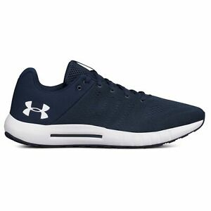 Under Armour Micro G Pursuit Navy Mens Running Shoes $59.79