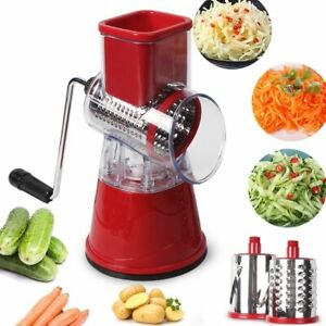 Manual Vegetable Cutter Slicer Kitchen Tools Multi-functional Round Mandoline