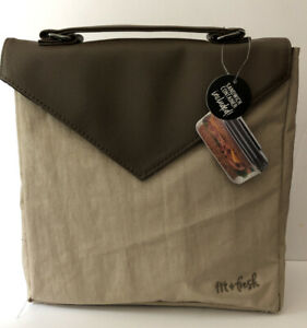 fit+fresh Professional Lunch Collection Insulated Lunch Tote W/ Sandwich Cont.