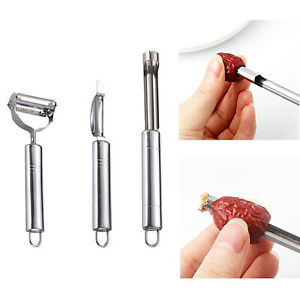1set Stainless Steel Carrot Potato Fruit Peeler Vegetable Grater Kitchen tool