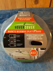 Hover Cover Magnetic Microwave Splatter Lid with Steam Vents Cover | Dishwasher